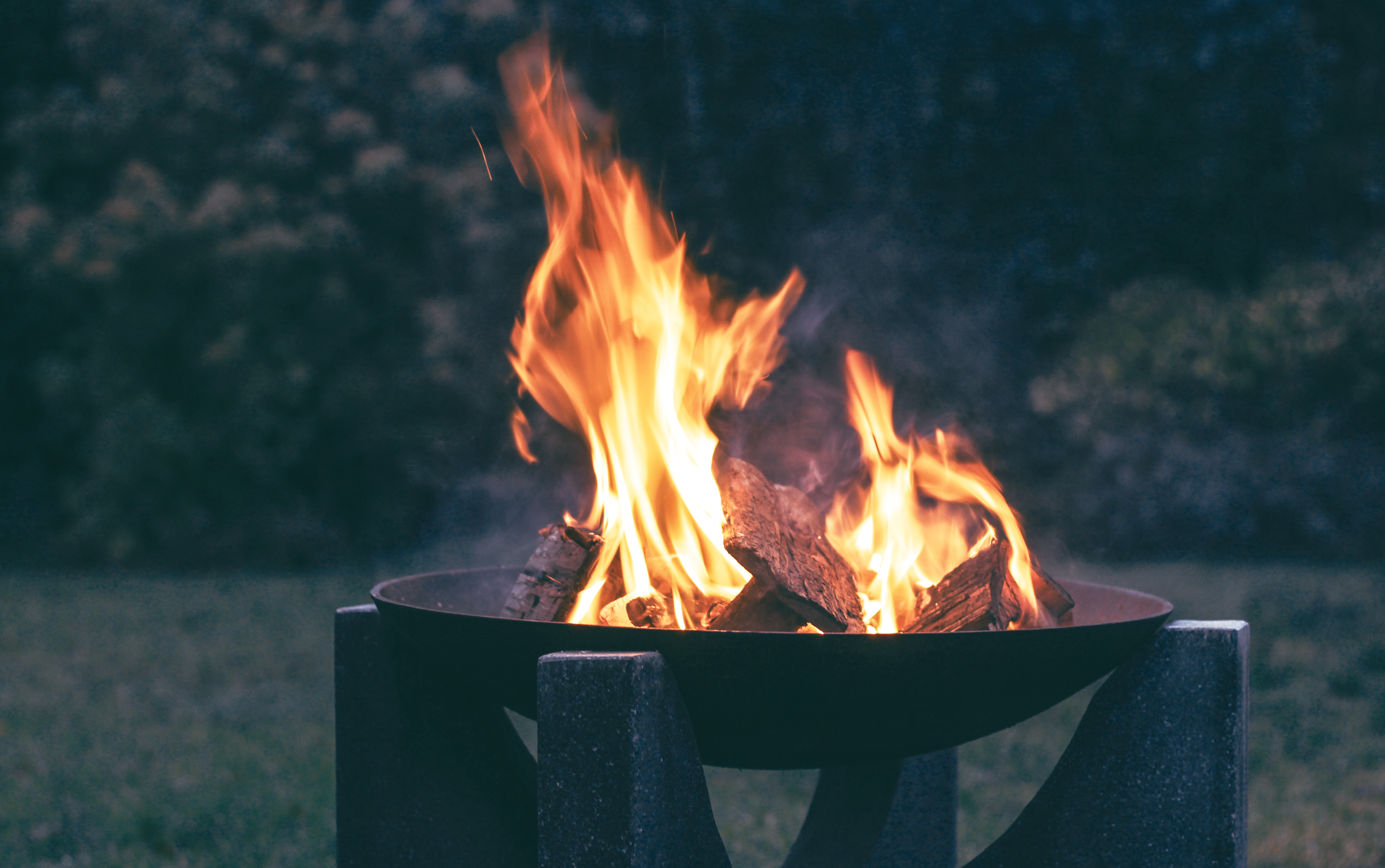 Canva - Photography of Wood Burning on Fire Pit